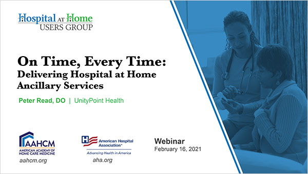 Cover of On Time Every Time Webinar slides